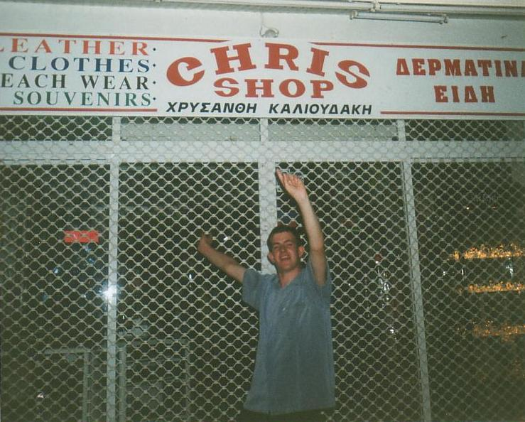 the chris shop